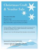 Christmas Craft and Vendor sale