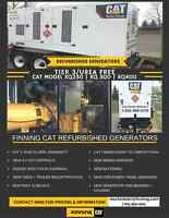 Used CAT Industrial Generators for Sale Now!