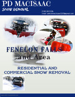 Snow Removal FENELON FALLS and Surrounding area