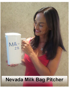 Milk Bag Pitcher ( The Right Fit )