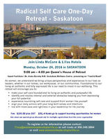 Radical Self Care 1-Day Retreat - Saskatoon, Oct 24/16