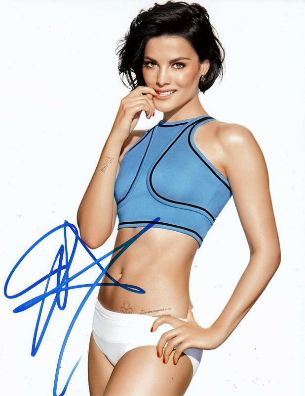 JAIMIE ALEXANDER.. Drop Dead Gorgeous (Blindspot) SIGNED