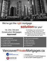 Self-Employed? Undeclared Income? Private Mortgage!