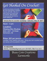 workshop: introduction to crochet