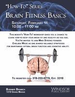 How-To Workshop Series: Brain Fitness Basics