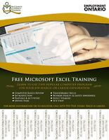 New Microsoft Excel Training for Work or Career Exploration
