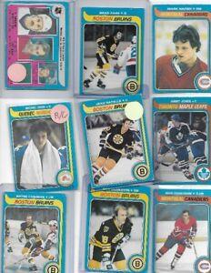 ((( 100 ))) 1979/80 OPC HOCKEY CDS WITH GRETZKY ROOKIE WOW