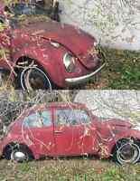 1968 Volkswagen Beetle & Newly Rebuilt Motor