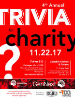 4th Annual GenNext Charity Trivia Night