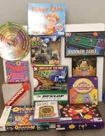 Various board games, operation,cranium and more!