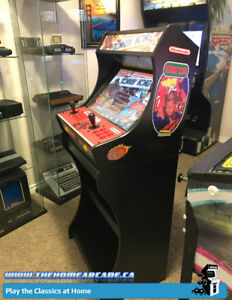 New Home Arcade Bartop Cabinet & Stand w/ over 7,100 games & Wty