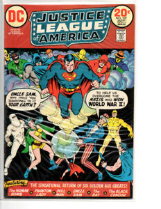 Justice League Of America #107 VF 7.5