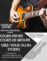 Guitar lessons * Cirque du Soleil musician * 1st hour FREE!