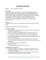 Intensive Family Support Worker