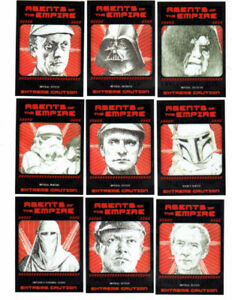 2014 Star Wars Chrome Perspectives Agents of the Empire 10 card
