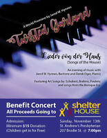 Songs of the House.. a splendid evening of Art Songs and Arias