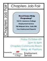 Chapters is Hiring