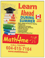 SUMMER PROGRAM- Make Summer Productive! (Lower Mainland)