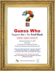 ART Sale...Food Bank fundraiser
