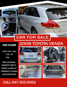 2009 Toyota Venza VALLEY EDITION SUV, Crossover