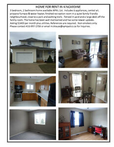 Home for rent in kincardine