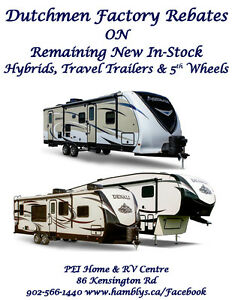 Dutchmen RV Rebates Now On