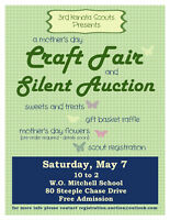 A Mother's Day Craft Fair and Silent Auction
