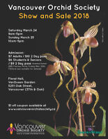 Vancouver Orchid Society Annual Show and Sale