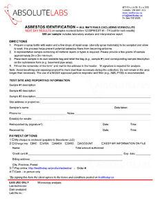 TestItToday.ca - Test for Asbestos - DIY mail-in test Saint-Hyacinthe Québec image 2