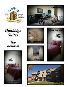 Executive Two Bedroom Furnished Suite NW Regina