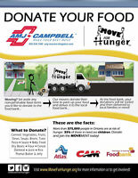 Moving?  Donate your non-perishables