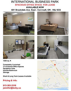 SPACIOUS OFFICE SPACE FOR LEASE - SHORT/LONG TERM
