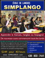 We Teach :  FRENCH - ENGLISH - SPANISH
