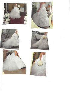 ROBE BLANCHE TAFETA DE MIARIE white wedding dress wore one time. West Island Greater Montréal image 1
