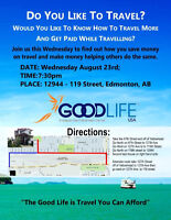 Get Paid to Travel Event