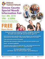 Special Needs Information Fair in Barrie