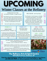 Winter Classes at The Refinery