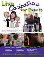 Caricature Artist - Parties | Special Events | Weddings
