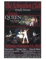 VALENTINE's DINNER & SHOW with Simply Queen