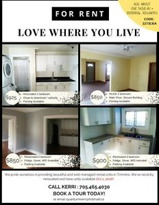 Beautiful 1&2 Bedroom Apartments for Rent *MOVE IN BONUS $200