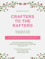 Crafters to the Rafters Handmade Market