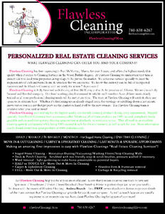 Moving to your New House or Selling? We will Clean! Free Quote!