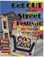Old East Village STREET SALE and Festival - Sat. JUNE 6th 10-5pm