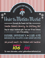Under the Mistletoe Market Craft Sale