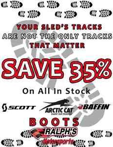 35% Off Scott, Arctic Cat & Baffin Boots!