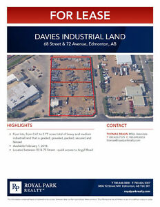 Davies Industrial Land
