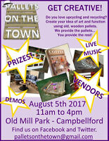 VENDORS WANTED - Pallet Festival in Campbellford