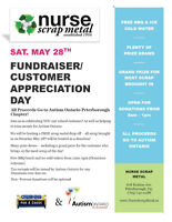 Nurse Scrap Metal Charity Fundraiser 'CRUSHING FOR A CAUSE'
