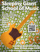 SLEEPING GIANT SCHOOL OF MUSIC -- FALL LESSONS!