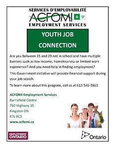Free Youth Employment Services Kingston Kingston Area image 1